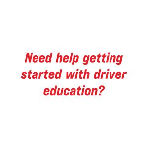 need help with drivers ed